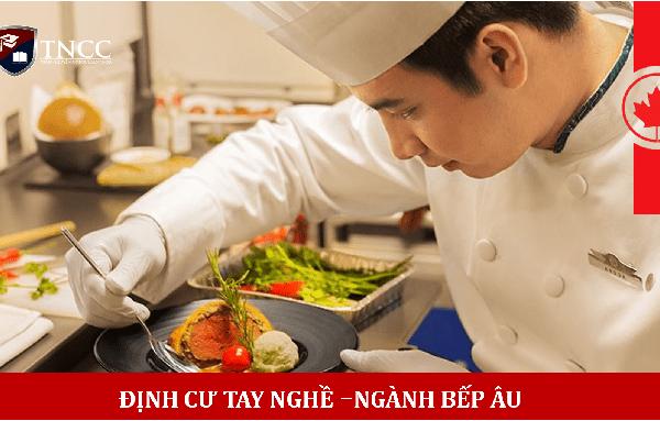 Làm đầu bếp xuất khẩu Canada 2020