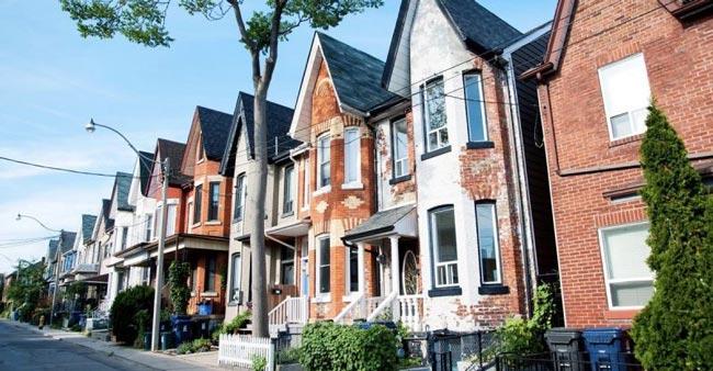 Giá nhà ở Canada