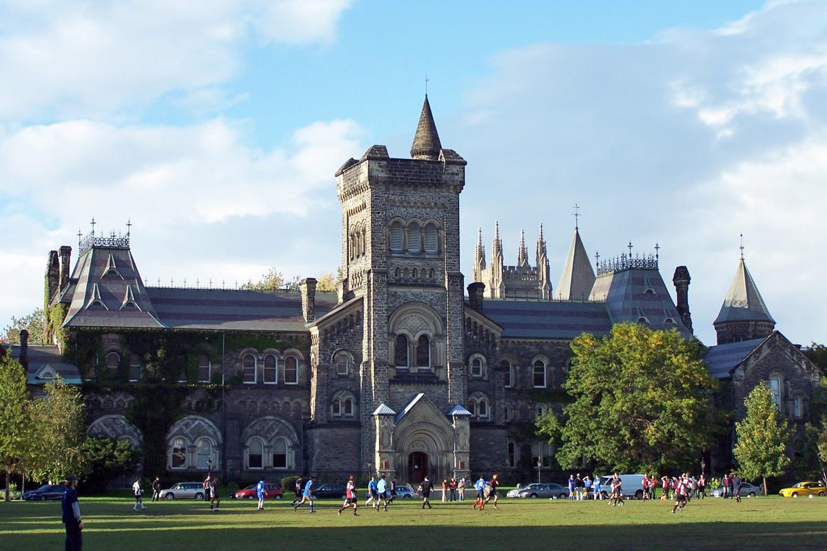 học bổng toàn phần đại học Toronto