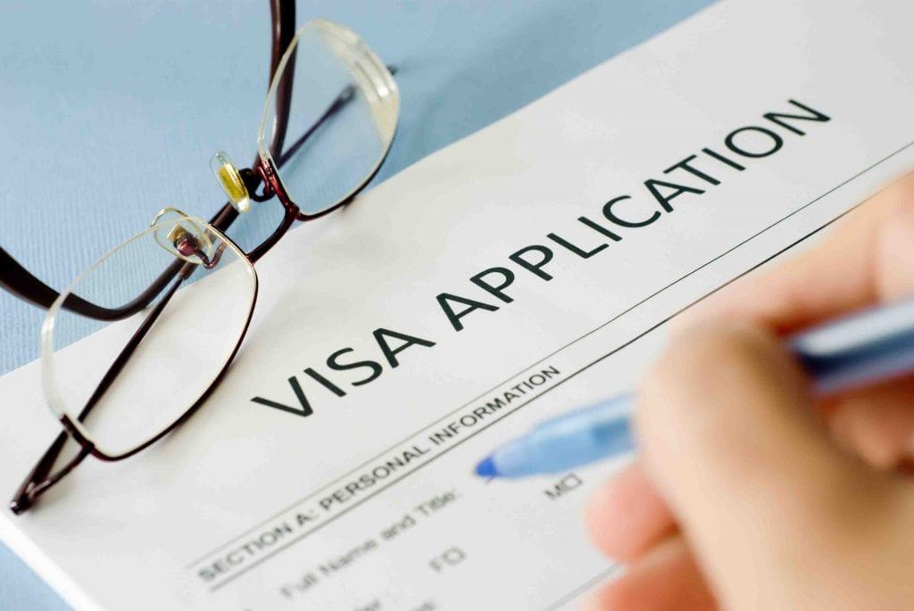 Tờ khai xin visa thăm thân Canada