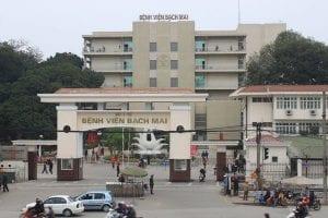 Bệnh viện Bạch Mai là một trong những bệnh viện khám sức khỏe XKLĐ uy tín