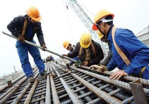 Ngành xây dựng cho nam đi xuất khẩu lao động